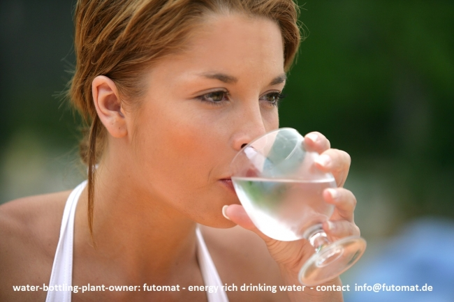 Oxygen Enriched Drinking Water